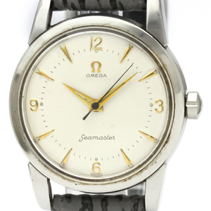 Omega Seamaster Mechanical Stainless Steel Men's Dress Watch 2759
