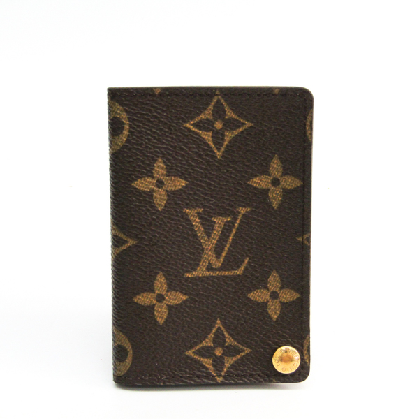 Louis Vuitton Monogram Monogram Card Case Monogram Pression Card Case M60937