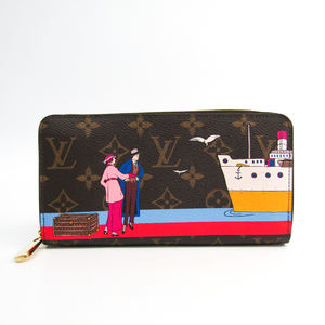 Louis Vuitton Monogram Zippy Wallet Atlantic Cruise M62135 Women's Monogram Long Wallet (bi-fold) Monogram