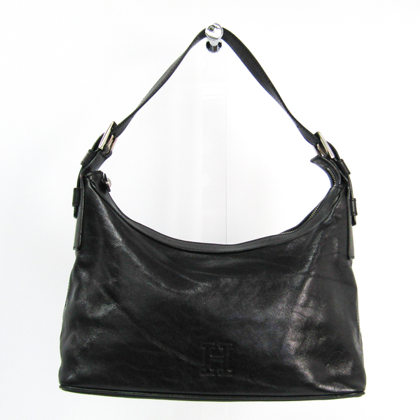Hirofu Women's Leather Handbag Black