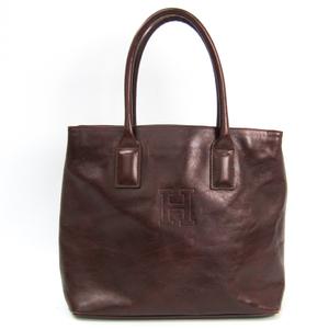 Hirofu Women's Leather Handbag Brown