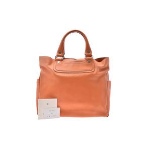 Celine Boogie Leather Bag Orange