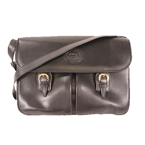 Gucci Sherry Line ショルダーバッグ Shoulder Bag 001.261.0843 Women's Leather Shoulder Bag Black