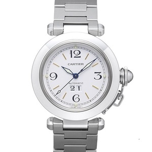 Cartier Pasha De Cartier Automatic Stainless Steel Unisex Dress Watch Pasha C