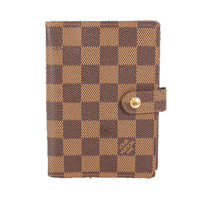 Auth Louis Vuitton  Planner Cover Damier Agenda PM R20700