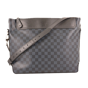 Auth Louis Vuitton Messenger Bag Damier Cobalt N41348