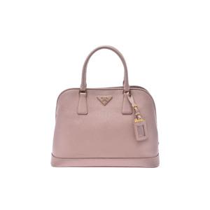 プラダ(Prada) Saffiano 2 way handbag Saffiano バッグ ピンク