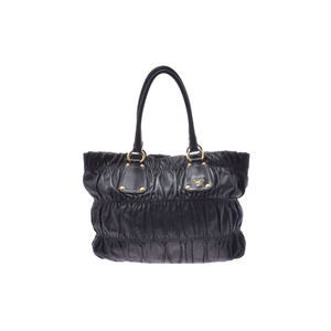 Prada 2way Handbag Leather Bag Black