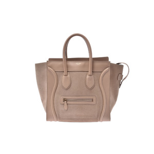 Celine Luggage Mini Shopper Leather Bag