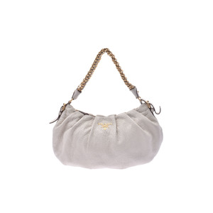 Prada Leather Bag White
