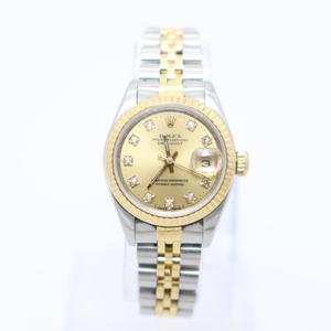 Rolex Datejust Automatic Stainless Steel,Yellow Gold (18K) Women's Luxury Watch 69173G