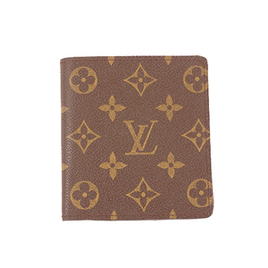 Louis Vuitton Monogram Portebillets10cartescredit M60883 Men's Monogram Bill Wallet (bi-fold) Monogram