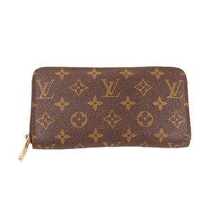 Louis Vuitton Monogram M60017 Women,Men,Unisex Leather,Canvas Long Wallet (bi-fold) Monogram