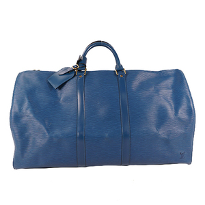 Louis Vuitton Epi M42955 Unisex,Men,Women Boston Bag Toledo Blue
