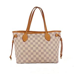 Louis Vuitton Damier Azur N41362 Women's Handbag,Shoulder Bag,Tote Bag Azur