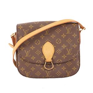 Louis Vuitton Monogram M51242 Women's Shoulder Bag Brown