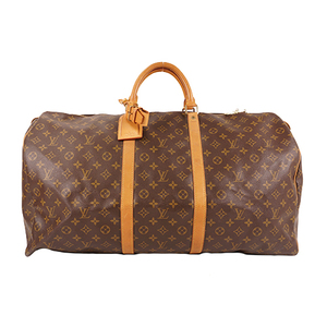 Louis Vuitton Monogram M41422 Unisex,Women,Men Boston Bag Brown