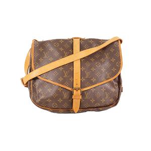 Louis Vuitton Monogram M42254 Women's Shoulder Bag Monogram