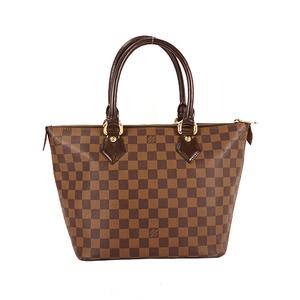 Louis Vuitton Damier Saleya PM N51183 Women's Handbag,Tote Bag Brown,Ebene