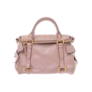 Miu Miu Leather Bag Pink