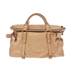 Miu Miu Leather Bag Brown