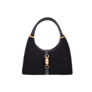 Gucci Jackie Leather Bag Black