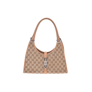 Gucci GG Canvas Canvas Bag Brown