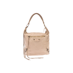 Balenciaga Leather Bag Beige