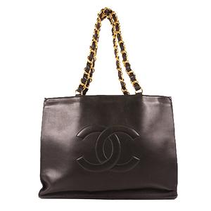 Chanel  Women's Leather Handbag,Shoulder Bag,Tote Bag Black