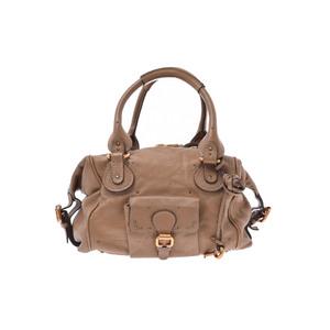 Chloé Paddington Leather Bag Brown