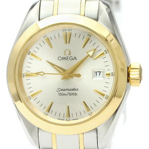 Omega Seamaster Quartz Stainless Steel,Yellow Gold (18K) Women's Sports Watch 2377.30