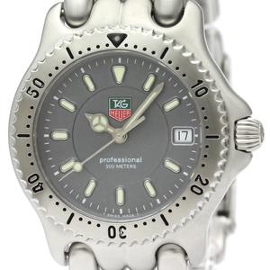 【TAG HEUER】タグホイヤー セル プロフェッショナル 200M ステンレススチール クォーツ ボーイズ 時計 WG1213