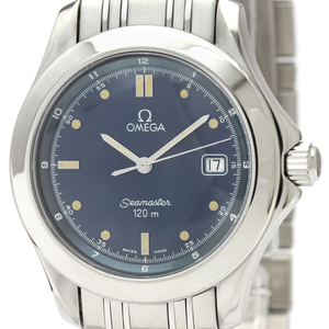 Omega Seamaster Quartz Stainless Steel Men's Sports Watch 2511.80