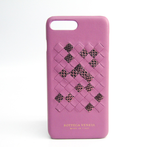 Bottega Veneta Intrecciato Intrecciato Phone Bumper For IPhone 7 Plus Pink
