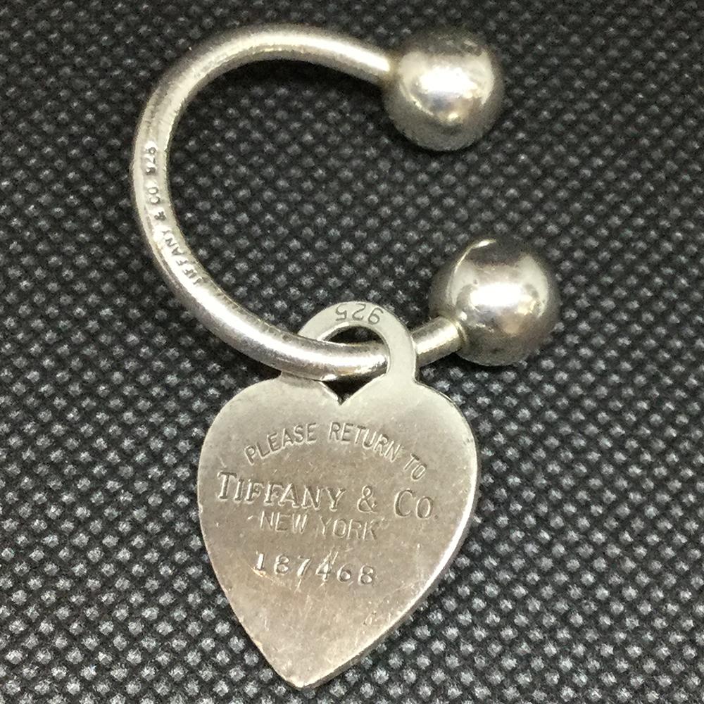 on sale 3708c 30780 ティファニー(Tiffany) リターン トゥ ティファニー ハートタグ キーリング キーホルダー (シルバー) | eLady.com