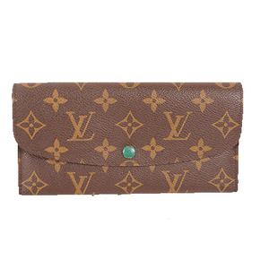 ルイヴィトン 二つ折り長財布 モノグラム ポルトフォイユジョセフィーヌ M60163