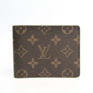 Louis Vuitton Monogram Multiple M60895 Unisex Monogram Bill Wallet (bi-fold) Monogram