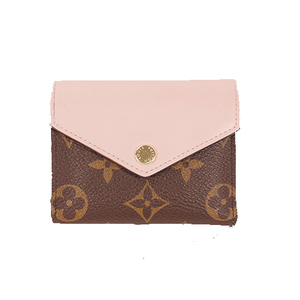 ルイヴィトン 三つ折り財布 モノグラム ポルトフォイユゾエ M62933