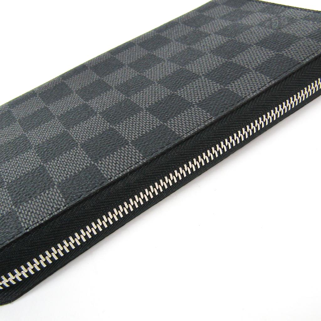 ルイ・ヴィトン(Louis Vuitton) ダミエ・グラフィット ジッピー・オーガナイザー N63077 メンズ ダミエグラフィット 長財布(二つ折り) ダミエ・グラフィット