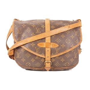 Auth Louis Vuitton Shoulder Bag Monogram Saumur MM M40710