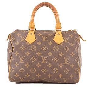 Louis Vuitton Monogram Speedy 25 M41109  Women's Handbag Brown