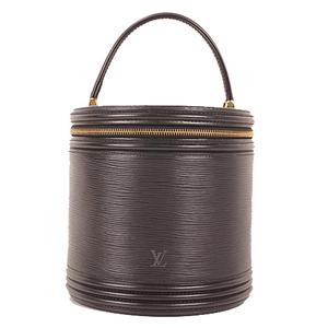 Louis Vuitton Epi Cannes M48032 Women's Handbag,Vanity Bag Noir