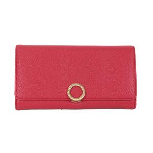 Auth Bvlgari Bvlgari Bvlgari Long Wallet (bi-fold) Pink