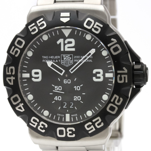 Tag Heuer Formula 1 Quartz Stainless Steel Men's Sports Watch WAH1010