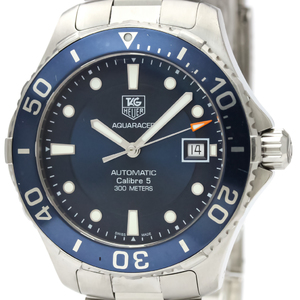 Tag Heuer Aquaracer Automatic Stainless Steel Men's Sports Watch WAN2111