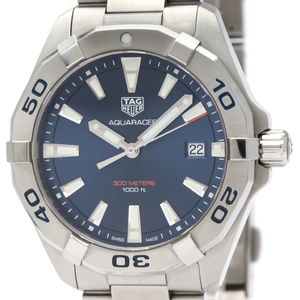 Tag Heuer Aquaracer Quartz Stainless Steel Men's Sports Watch WBD1112