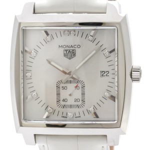 Tag Heuer Monaco Quartz Stainless Steel Unisex Sports Watch WAW131B