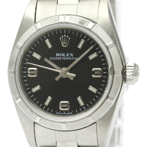 ROLEX Oyster Perpetual Steel Automatic Ladies Watch 76030