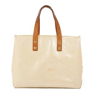 Louis Vuitton Monogram LeadPM Vernis Women's Handbag Pearl