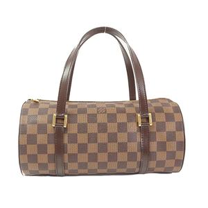 Louis Vuitton Damier Papillon N51304 Women's Handbag Ebene
